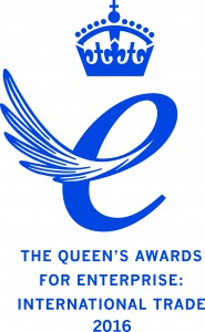 Queen's Award for Enterprise International Trade 2016 Emblem
